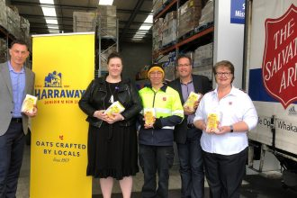 salvation army and harraways feed locals