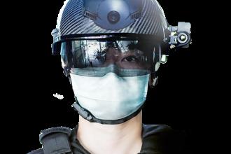 wearable helmet to help detect covid19 symptoms