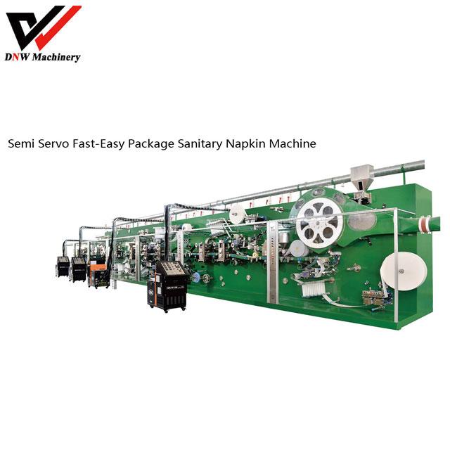semi-servo-fast-easy-package-sanitary-napkin-production-line